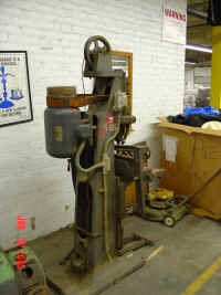 Large mortiser at auction.